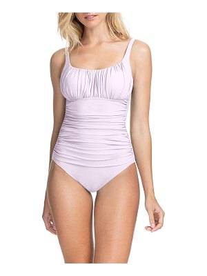 Profile By Gottex Tutti Frutti Ruched One-Piece Swimsuit