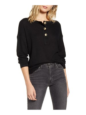 Project Social T about it cozy thermal henley top