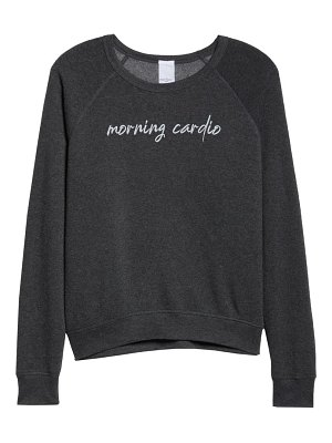 Project Social T cardio/carbs reversible sweatshirt