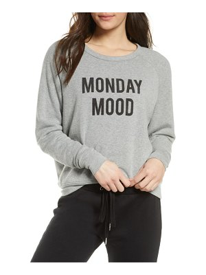 Project Social T monday mood/friday feels reversible sweatshirt