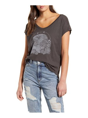 Project Social T mystical leopard graphic tee