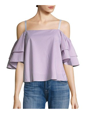 Prose & Poetry Doreen Off-The-Shoulder Camisole Top