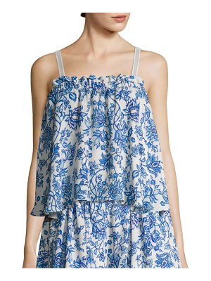 Prose & Poetry Suri Shirred Front Slim-Fit Camisole