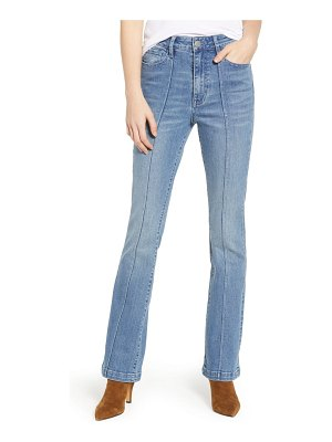 PROSPERITY DENIM pintuck flare jeans