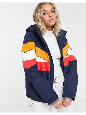 Protest honeycomb jacket in blue