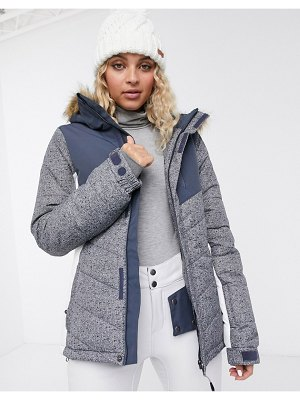 Protest winter jacket in gray