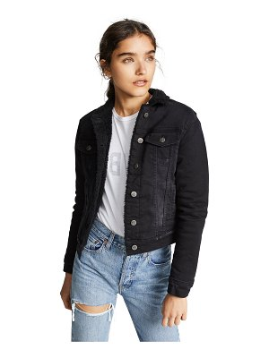 PRPS sherpa lined denim jacket