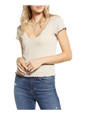 PST by Project Social T lettuce edge baby tee