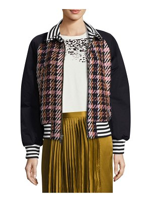 Public School Zita Plaid Jacket