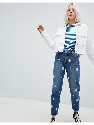 Pull & Bear beauty and the beast mom jeans