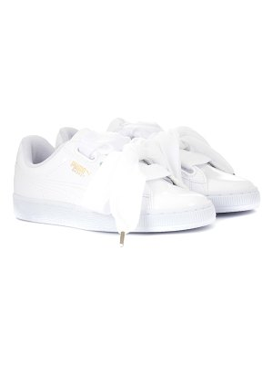 PUMA basket heart patent sneakers