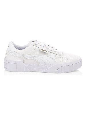 PUMA cali leather platform sneakers