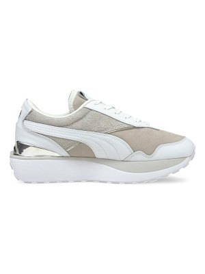 PUMA cruise rider 66 leather & suede sneakers