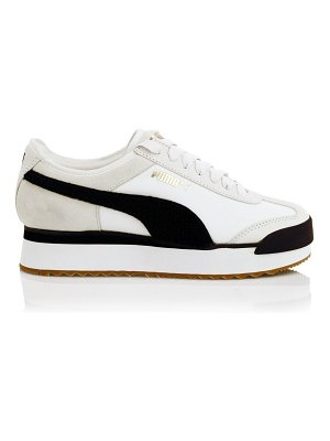 PUMA roma amor heritage platform leather sneakers