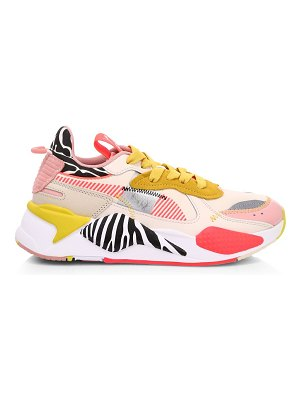 PUMA rs-x unexpected mixes suede & leather sneakers