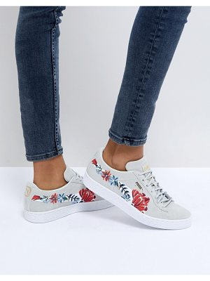 PUMA Suede Embellished Sneakers In White