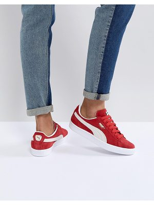 PUMA Suede Sneakers In Red