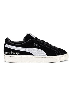 PUMA x lauren london suede forever stronger sneaker. - size 8 (also