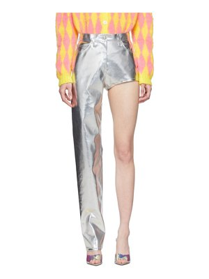 pushBUTTON ssense exclusive  one-leg trousers