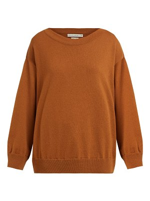 QUEENE AND BELLE round-neck cashmere sweater