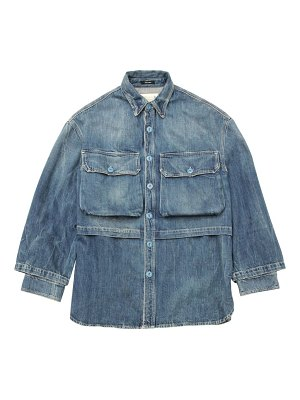 R13 alice double denim jacket