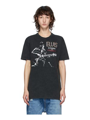 R13 black elvis in person curtis t-shirt