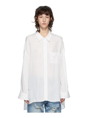 R13 drop neck shirt