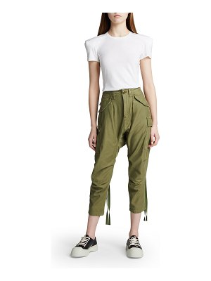 R13 Harem Cargo Pants with Ties