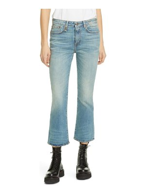 R13 kick fit crop jeans