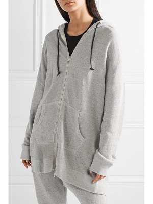 R13 oversized cotton-terry hoodie
