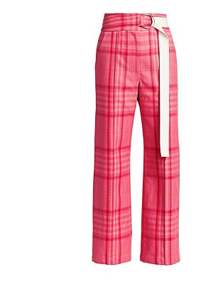 Rachel Comey elo plaid belted pants