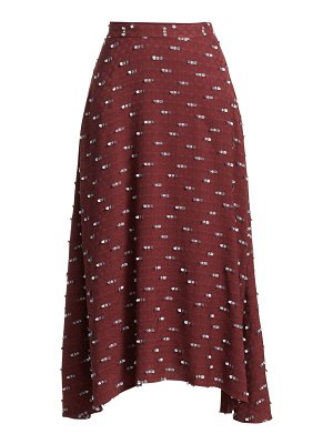 Rachel Comey gimlet embroidered midi skirt