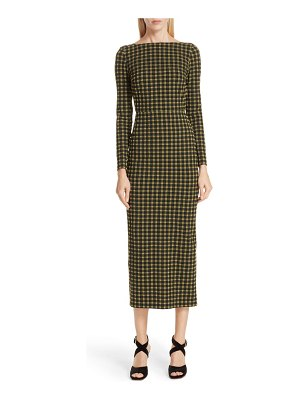 Rachel Comey ryer plaid pencil dress