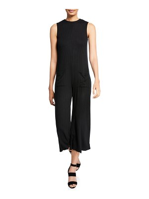 Rachel Pally Cassius Ribbed Sleeveless Jumpsuit