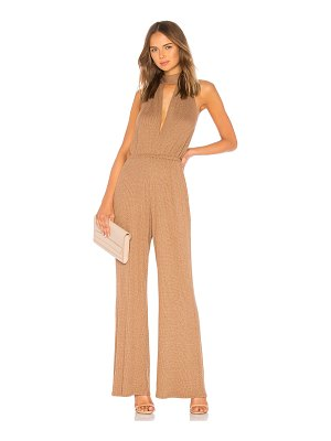 Rachel Pally Metallic Rib Charlie Sweater Jumpsuit