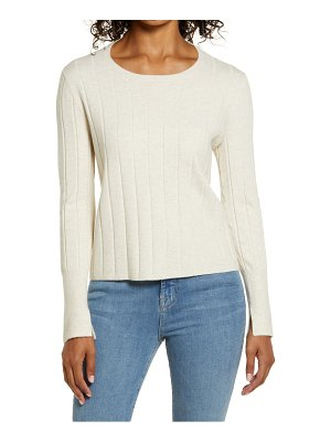 Rachel Parcell easy ribbed sweater