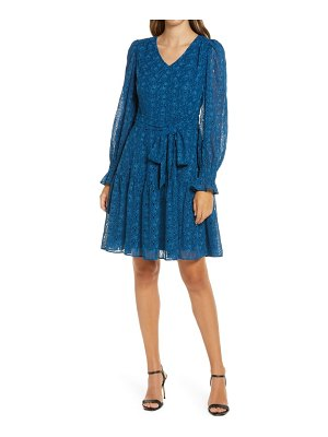 Rachel Parcell embroidered eyelet long sleeve dress