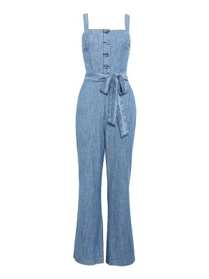 Rachel Parcell sleeveless chambray jumpsuit