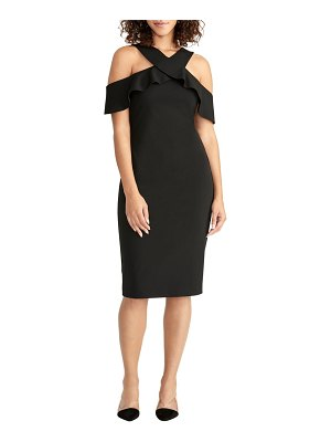 RACHEL RACHEL ROY jolie cold shoulder sheath dress