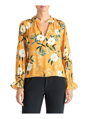 RACHEL ROY COLLECTION floral poet blouse