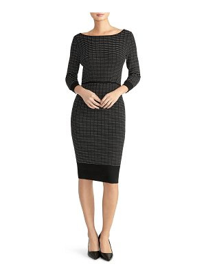 RACHEL ROY COLLECTION ribbed sweater dress
