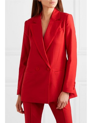 Rachel Zoe giorgia double-breasted canvas blazer
