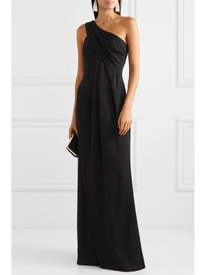 Rachel Zoe kareen one-shoulder draped crepe gown