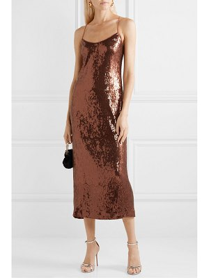 Rachel Zoe sistine sequined crepe midi dress