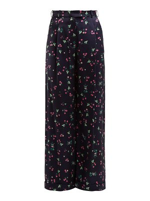 RACIL mama floral print trousers