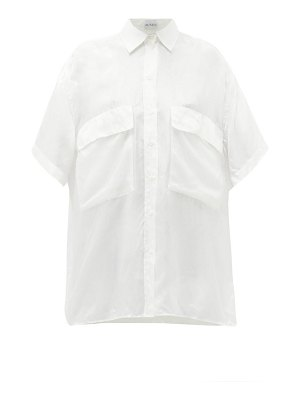 RAEY double layer silk shirt
