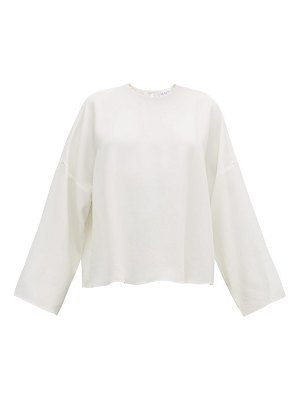 RAEY dropped-shoulder crepe top