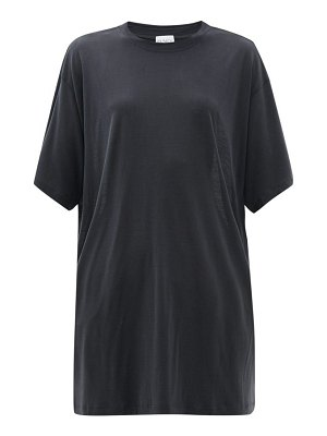 RAEY long-line cotton-jersey t-shirt