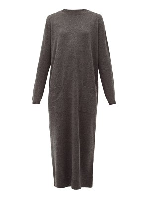 RAEY pocket front cashmere midi dress