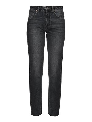 RAEY rail high-rise straight-leg jeans